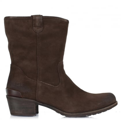 UGG Briar Lodge Suede Brushed Western Boot