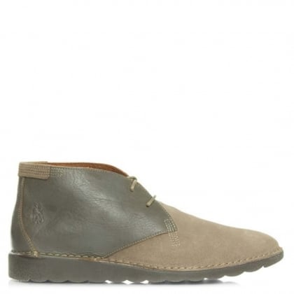 Fly London Cove Taupe Suede Desert Boot