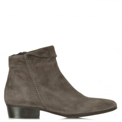 Lamica Taupe Suede Acimal 65 Ankle Boot