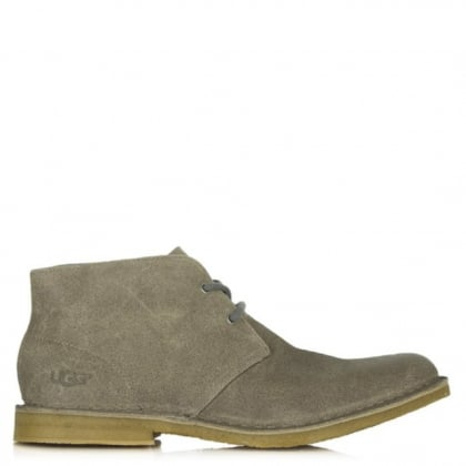 UGG Australia Leighton Beige Leather Desert Boot
