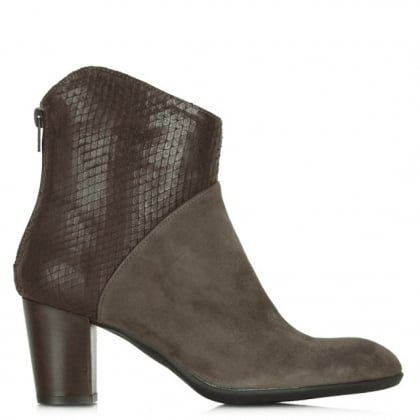 Lamica Acimal 39 Taupe Suede Ankle Boot