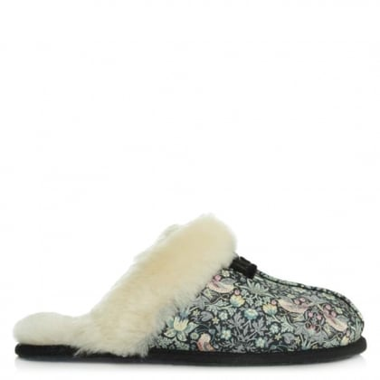 UGG Australia Scuffette Strawberry Thief Liberty Print Slipper