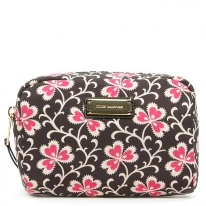 Juicy Couture Las Palmas Cosmetic Floral Cosmetic Case