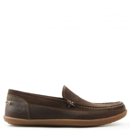 Timberland Odelay Brown Nubuck Slip On Loafer