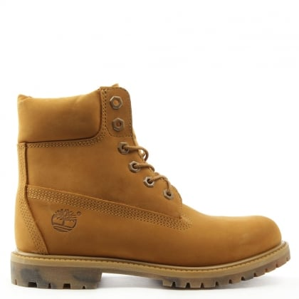 Timberland Icon 6 Inch Wheat Nubuck Watercolour Outsole Boot