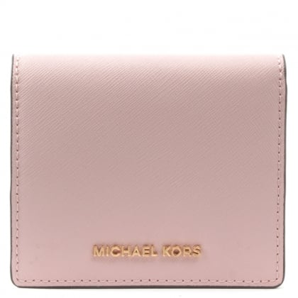 Michael Kors Jet Set Carryall Blossom Saffiano Leather Wallet