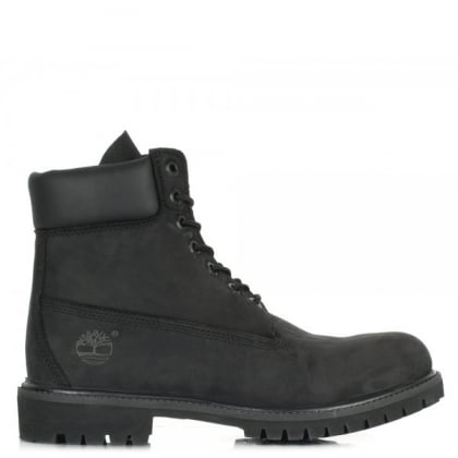 Timberland Men's 6-Inch Black Premium Waterproof Boot