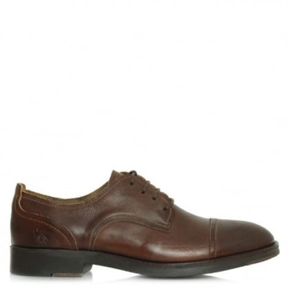 Fly London Men's Home Tan Leather Lace Up Shoe