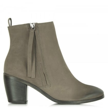 Kennel & Schmenger Grey Suede Apicius 61 61060 Women's Ankle Boot
