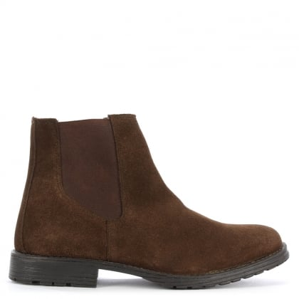Jack & Jones Radnor Brown Suede Chelsea Boot