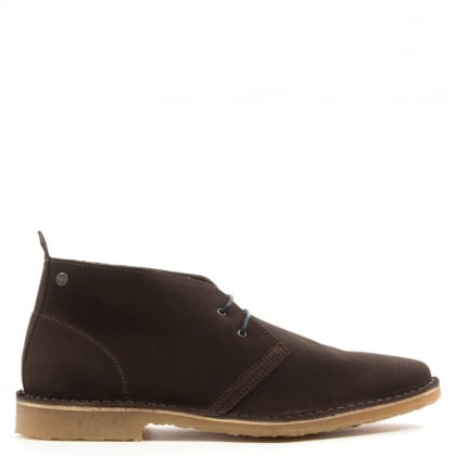 Jack & Jones Gobi Brown Suede Desert Boot
