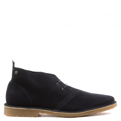 Jack & Jones Gobi Navy Suede Desert Boot