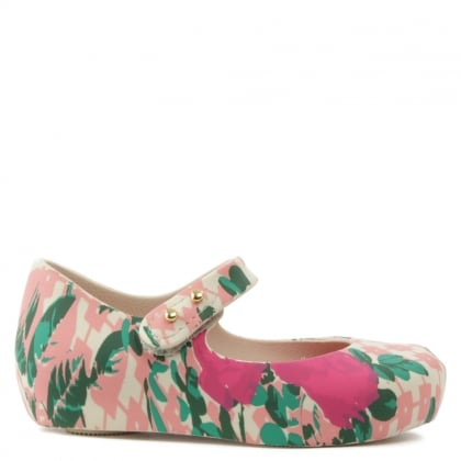 Vivienne Westwood Mini Ultra Flower Multicoloured Mary Jane