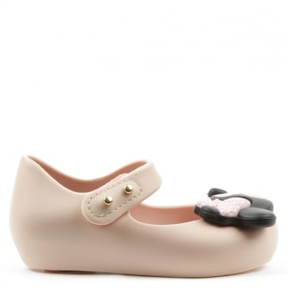Melissa Kid's Minnie Mouse Pink Mary Jane Shoe