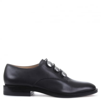Alexander Wang Matilda Black Derby Shoes