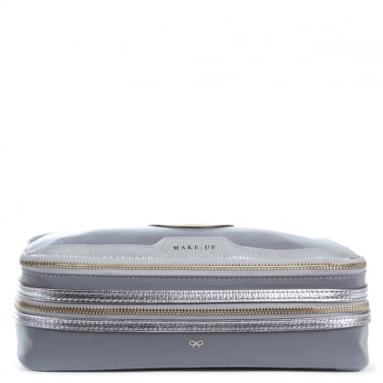 Anya Hindmarch Grey Wink Make Up Case