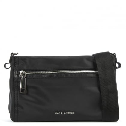 Marc Jacobs Easy Black Front Pocket Cross-Body Bag