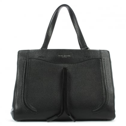 Marc Jacobs Maverick Black Leather Tote Bag