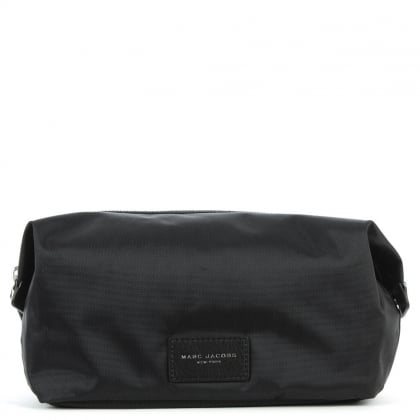 Marc Jacobs Nylon Black Biker Cosmetic Pouch