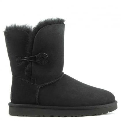 UGG Bailey Button II Black Twinface Boot