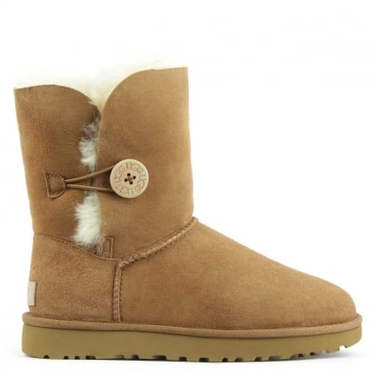 UGG Bailey Button II Chestnut Twinface Boot