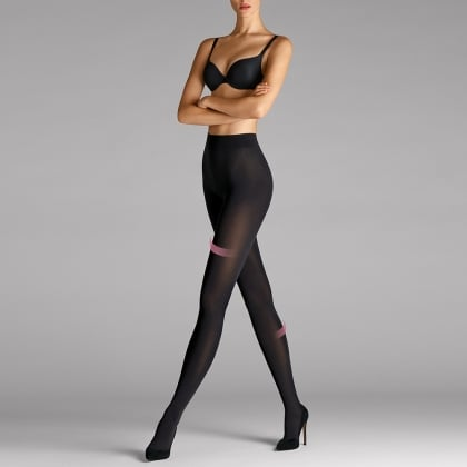 Wolford Velvet 66 Support Black Women's Tights