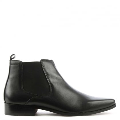 Daniel Bridcutt Black Leather Chelsea Boot