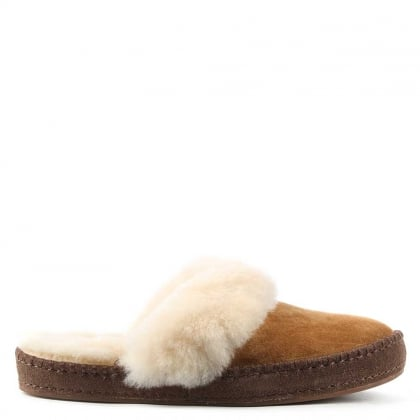 UGG Aira Chestnut Sheepskin Mule Slipper