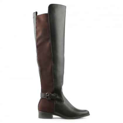 Via Uno Brown Over The Knee Boot