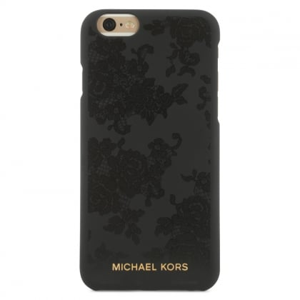 Michael Kors Electronic Black Lace Print iPhone 6/ 6s Case