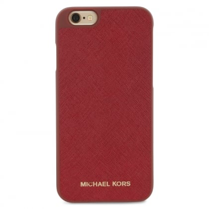 Michael Kors Electronics Cherry Leather iPhone 6/6s Case