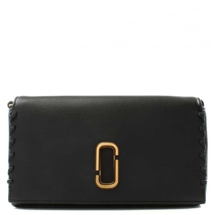 Marc Jacobs Noho Black Leather Small Cross-Body Bag