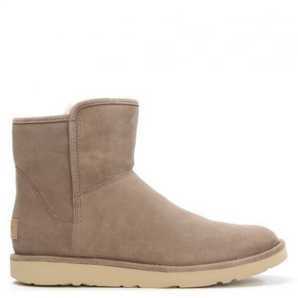 UGG Abree Mini Clay Suede Ankle Boot