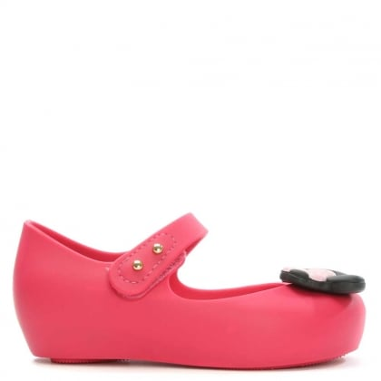 Melissa Kid's Minnie Mouse Fuschia Mary Jane Shoe