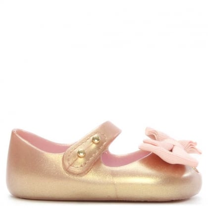 Melissa Pink Pearl My First Mini Baby Shoe