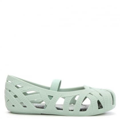Melissa Jason Wu Kids Mini Rubber Mint Mary Jane