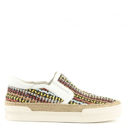 Ash Cali Multicoloured Woven Slip On Trainers