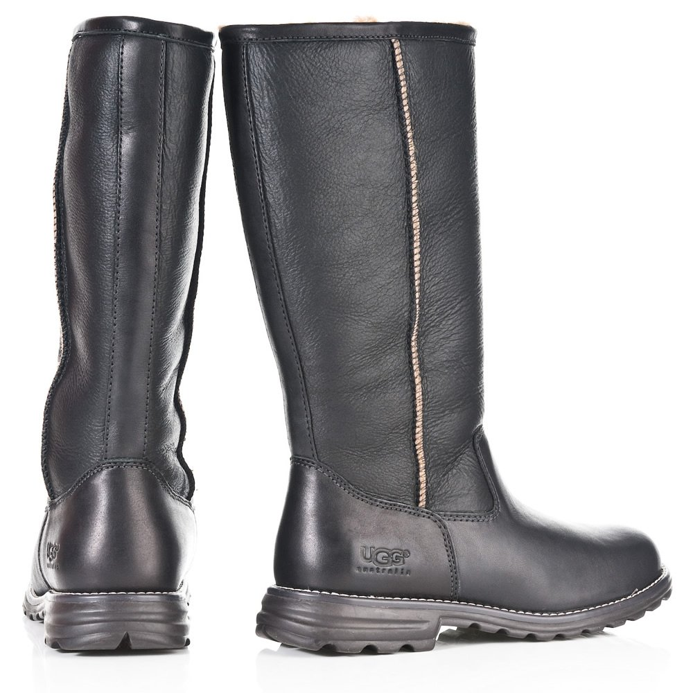 uggs brooks tall black