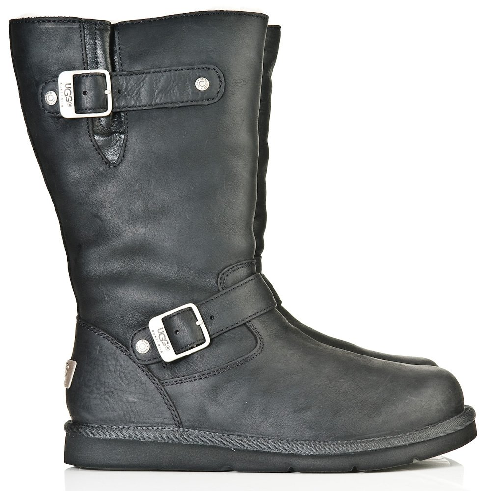 ugg ugg 174 black 5678 kensington womens calf boot ugg from