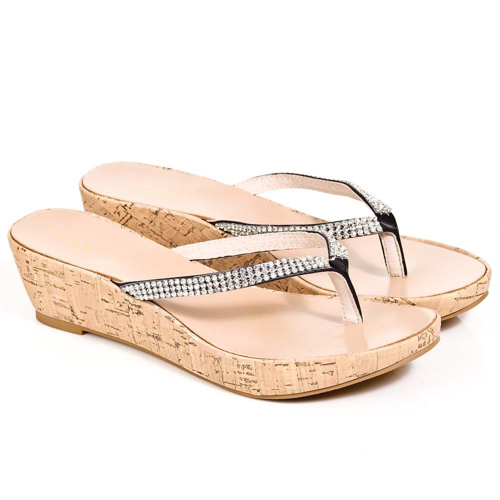 Daniel Shelby Women S Low Wedge Sandal