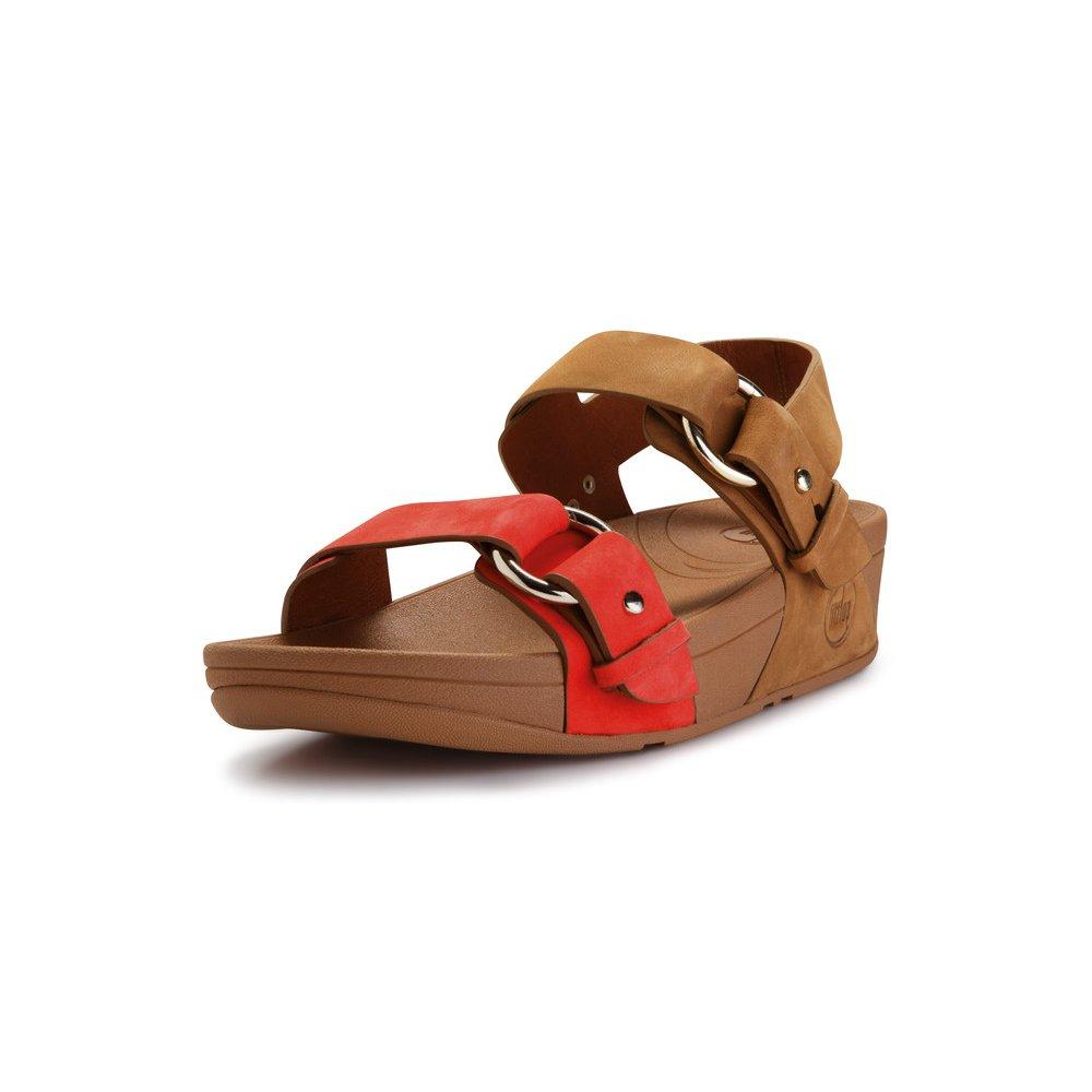 Fitflop Via Bar Tan Flame Women S Toning Sandal