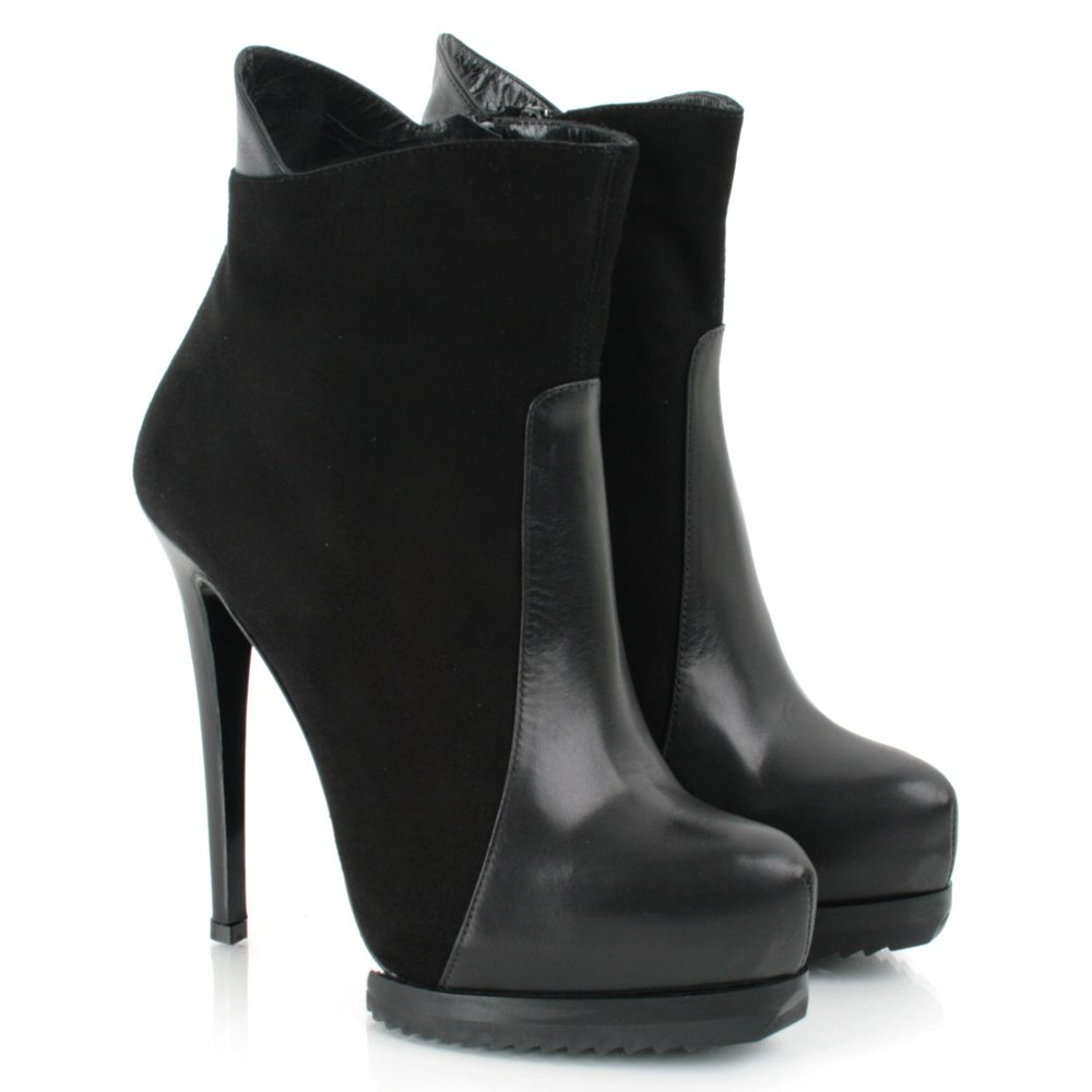 daniel black lauper s high heeled ankle boot