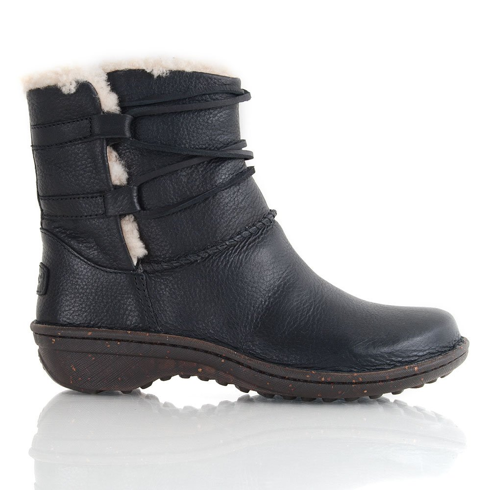 Ugg black Leather CASPIA Women's Ankle Boot