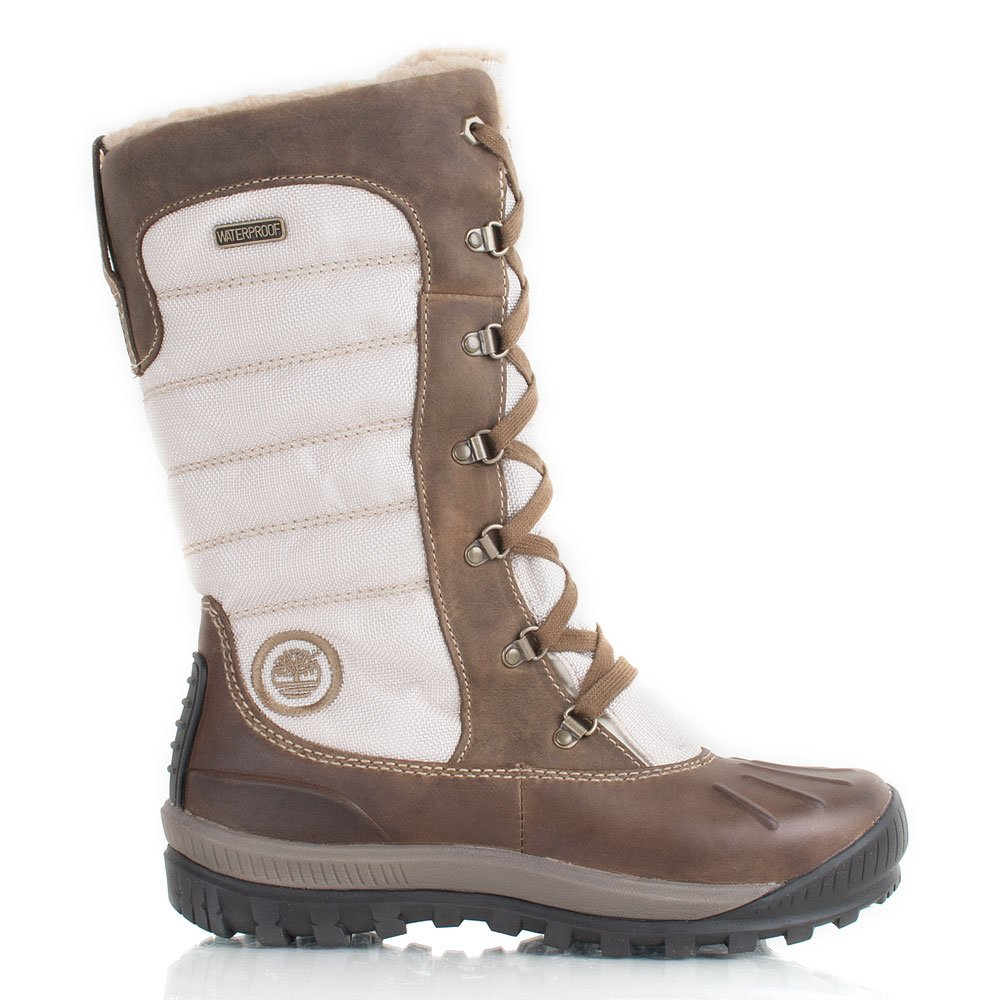 Excellent  Lace Up Fur Lined Warm Shoes Duck Winter Snow Boots UK 310  EBay