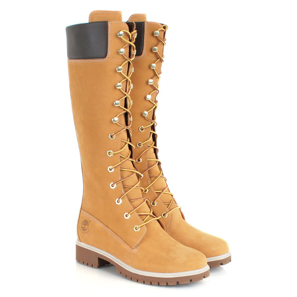 timberland wheat 14 inch premium waterproof s boot