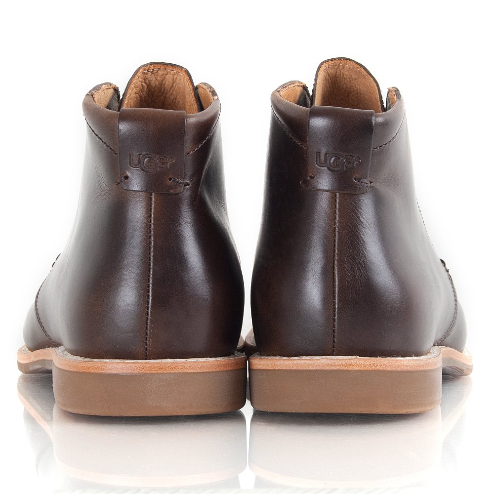 ugg brown via lungarno s ankle boot