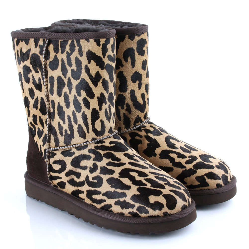 f303fde25a3 Ugg Womens Classic Short Boots Exotic Black - cheap watches mgc-gas.com