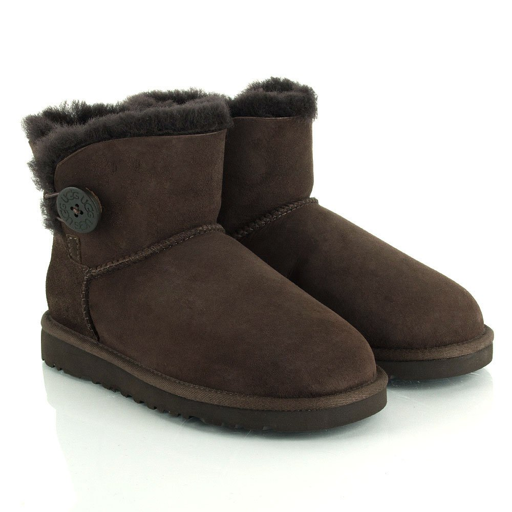 chocolate bailey button ugg boots