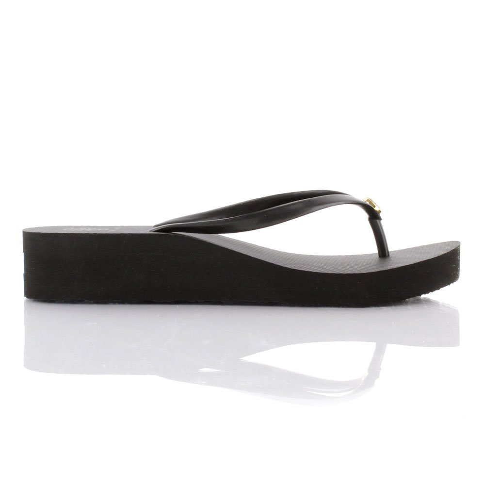 Tory Burch Black 50008673 Women S Wedge Flip Flop