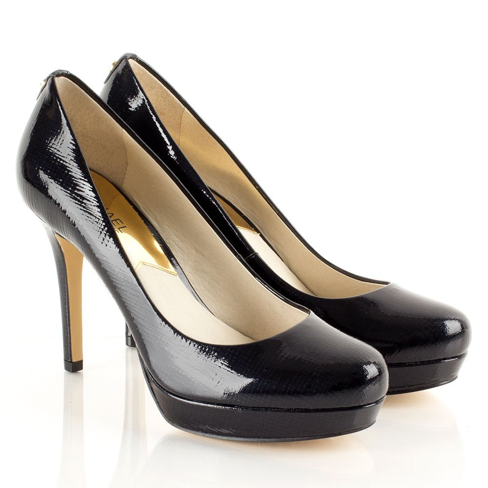 Michael Kors Navy Ionna Pump Women S Court Shoe